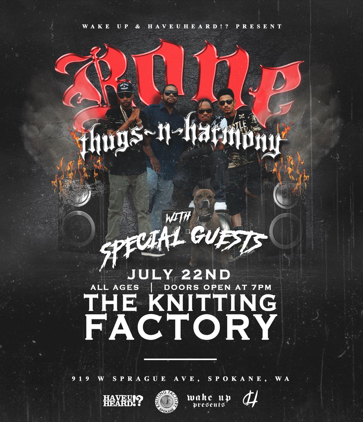 Bone Thugs-N-Harmony Concert Smokelist
