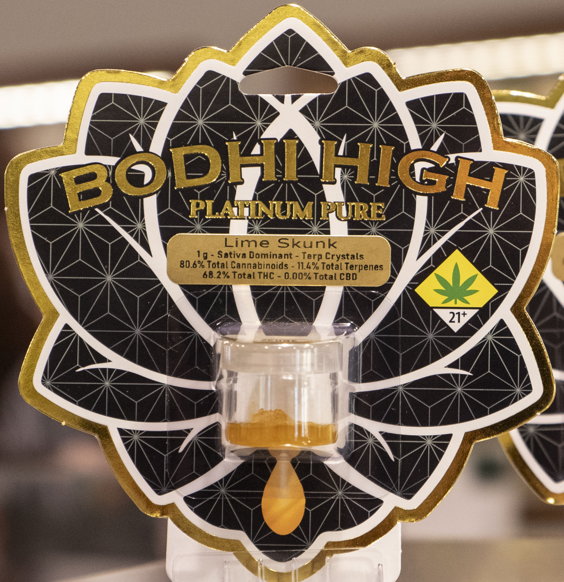 The Budtender's Review Corner: Lime Skunk from Bodhi High's Platinum Pure