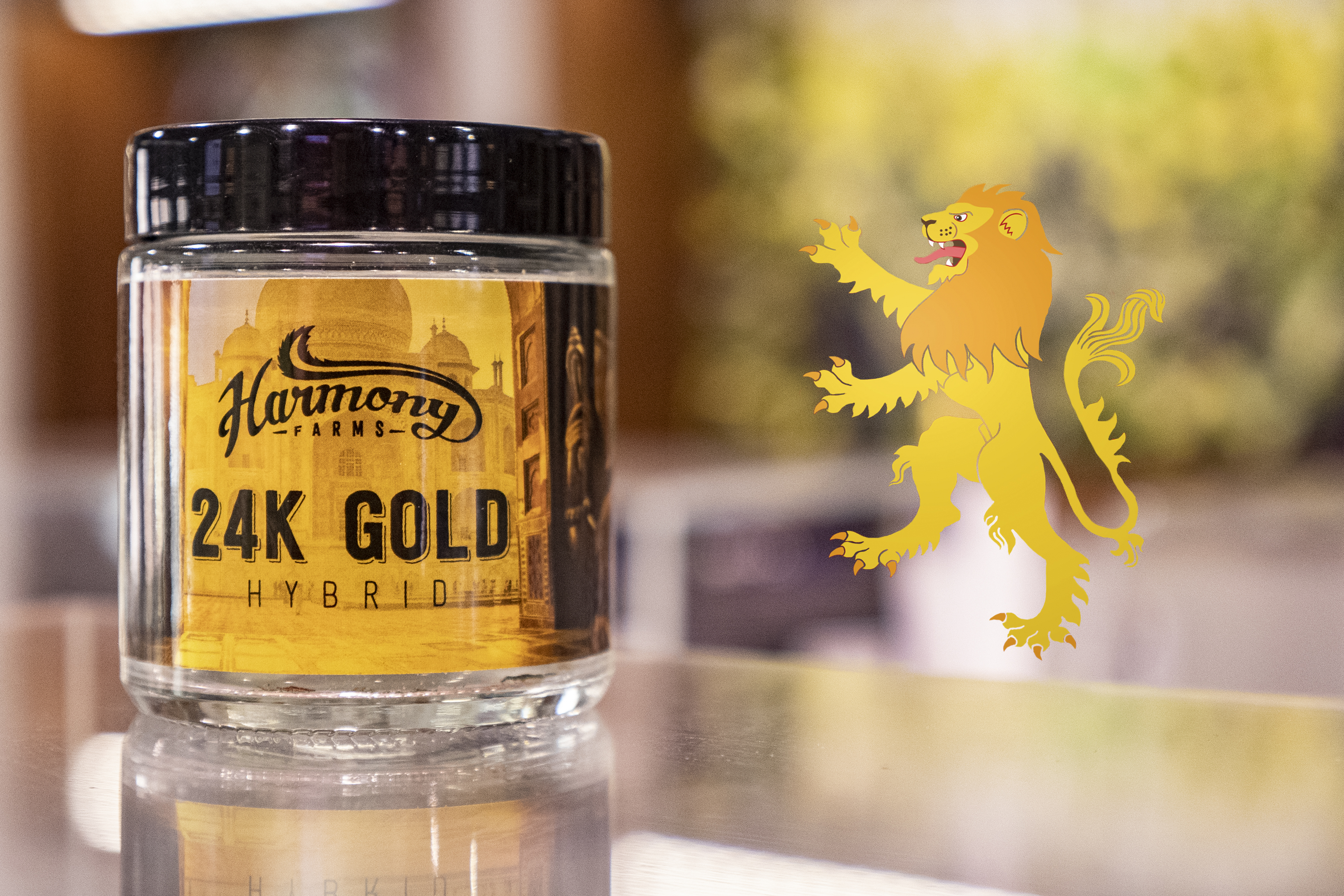 Game of Thrones Cannabis Strains and Sigils: 24K and House Lannister