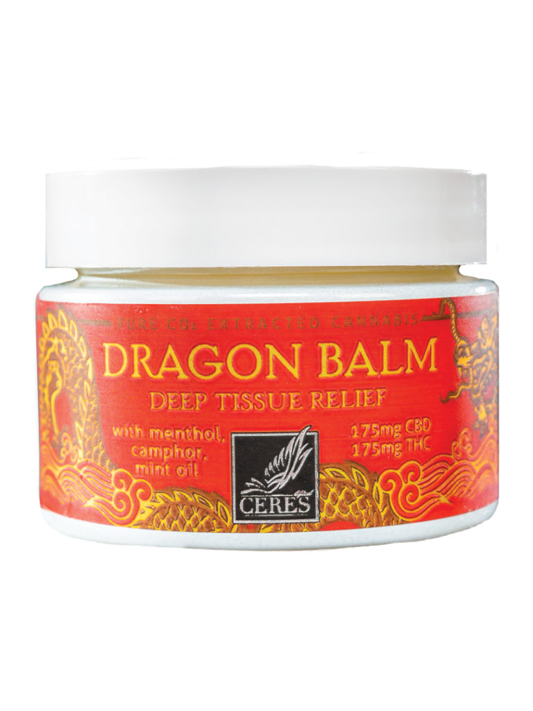 Ceres's Dragon Balm Topical; 175mg CBD 175mg THC