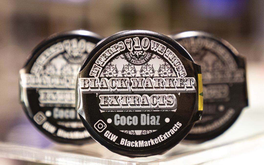 Black Market Extracts' Coco Diaz concentrate review