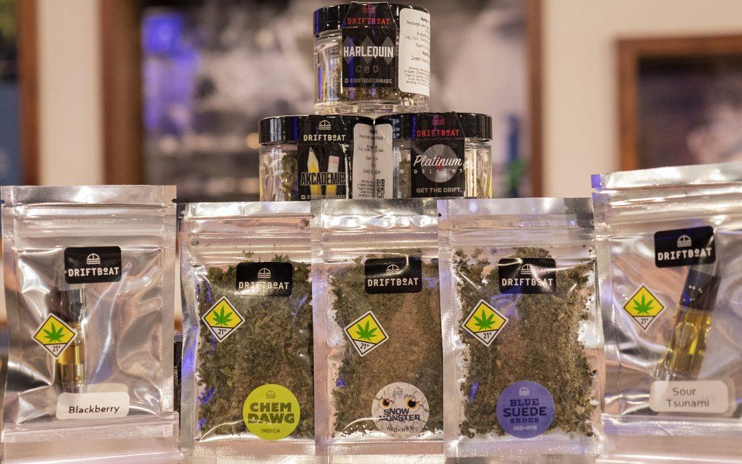 Driftboat Cannabis; A Cinder OG