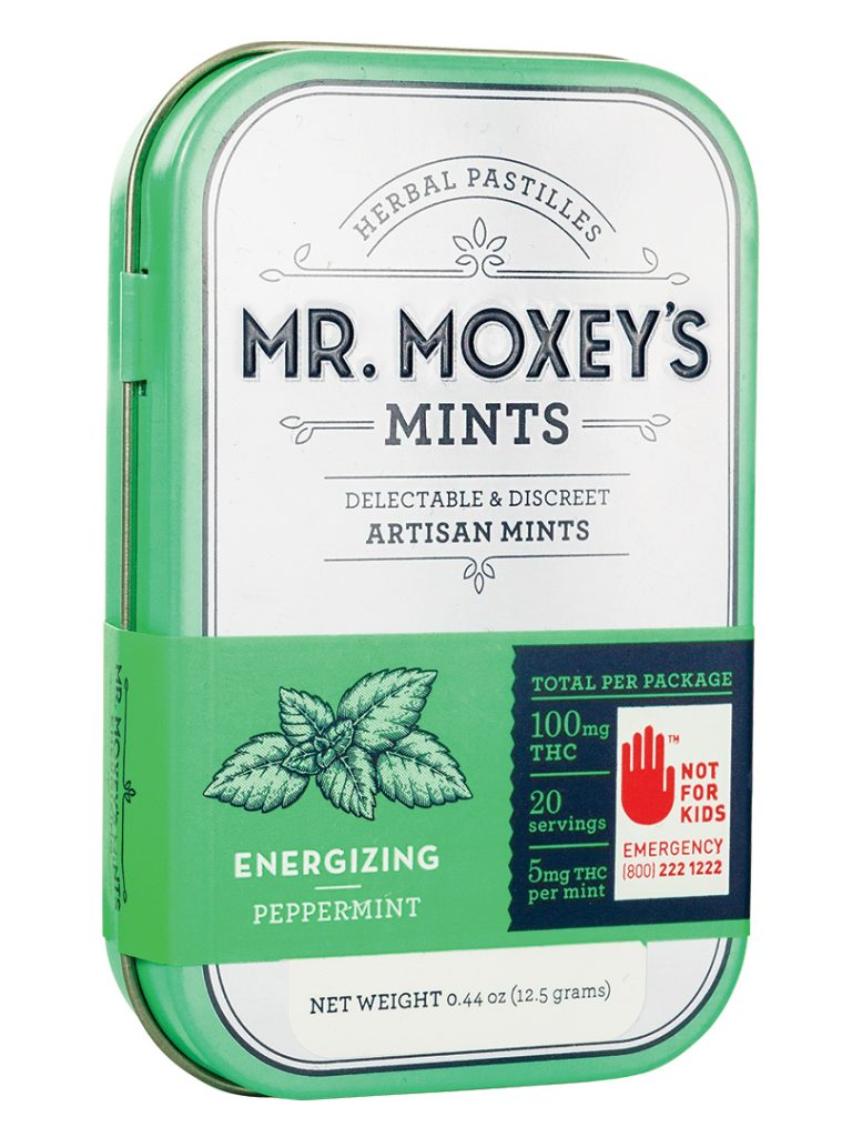 Mr. Moxey's Energizing Peppermint Mint 100mg THC