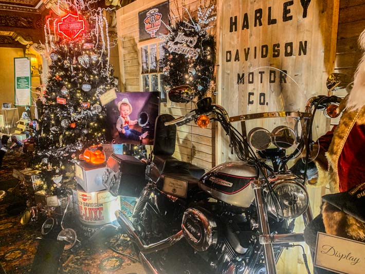 Harley Davidson tree of elegance