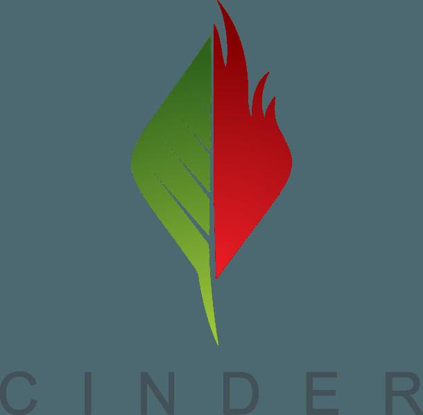 Cinder Spokane logo
