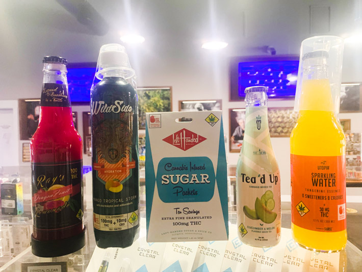 Cannabis Infused Beverage options